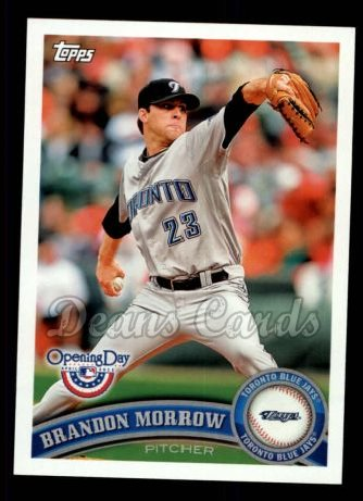 2011 Topps Opening Day #87  Brandon Morrow