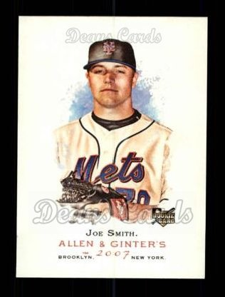 2007 Topps Allen & Ginter #168  Joe Smith