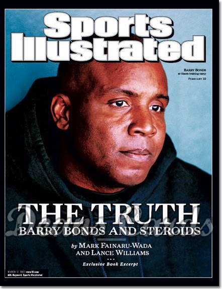 2006 Sports Illustrated   March 13  -  Barry Bonds SF Giants