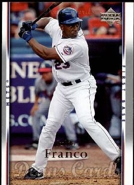 2007 Upper Deck #375  Julio Franco