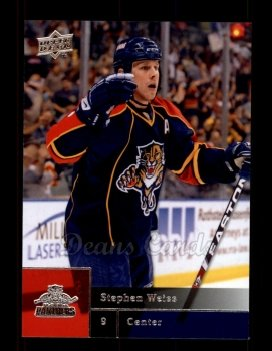 2009 Upper Deck #72  Stephen Weiss