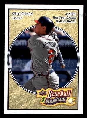 2008 Upper Deck Heroes #95  Kelly Johnson