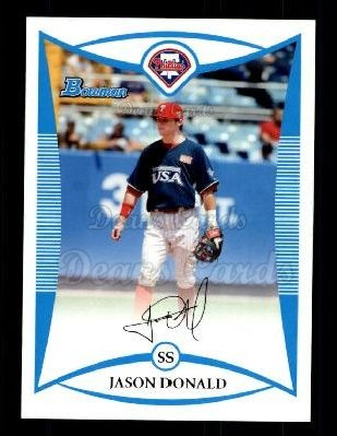 2008 Bowman Draft Prospect #85  Jason Donald
