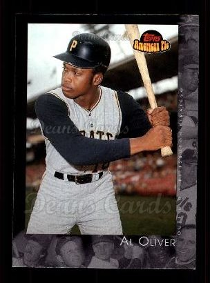 2001 Topps American Pie #2  Al Oliver