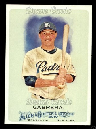 2010 Topps Allen & Ginter #2  Everth Cabrera