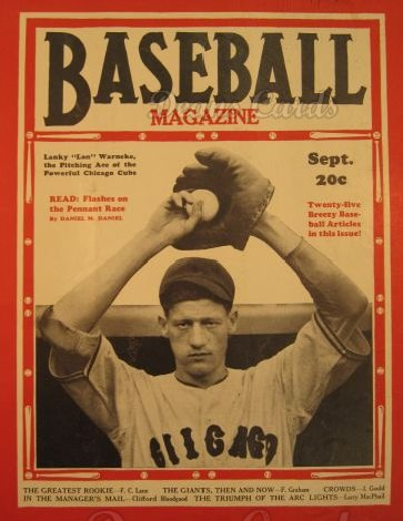 1936 Baseball Magazine    September