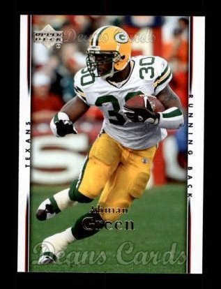 2007 Upper Deck #71  Ahman Green