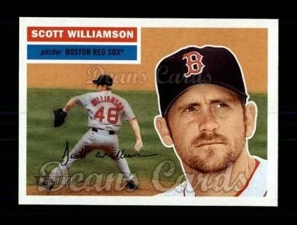 2005 Topps Heritage #68  Scott Williamson
