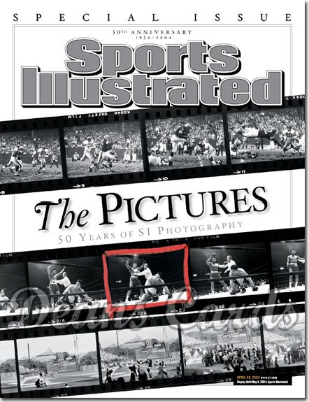2004 Sports Illustrated - With Label   April 26  -  50 Years Of SI Photography