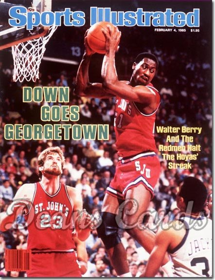 1985 Sports Illustrated - No Label   February 4  -  Walter Berry (St.John's Redmen)