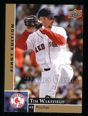 2009 Upper Deck First Edition #49  Tim Wakefield