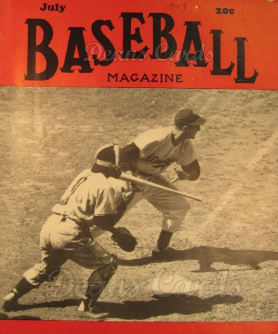 1949 Baseball Magazine    July