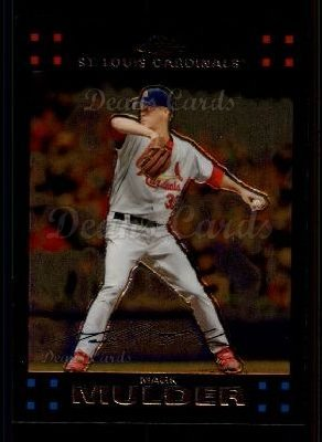 2007 Topps Chrome #92  Mark Mulder