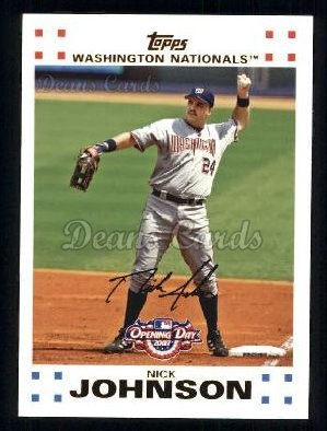 2007 Topps Opening Day #122  Nick Johnson
