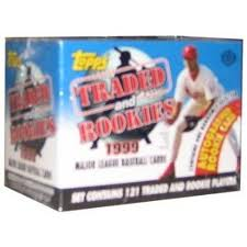 1999 Topps     Baseball Traded Factory Sealed Complete Set