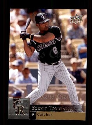 2009 Upper Deck #632  Yorvit Torrealba