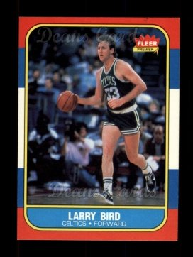 1986 Fleer #9  Larry Bird
