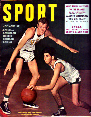 1950 Sport Magazine   -  Don Lofgran / Rene Herrerias  January