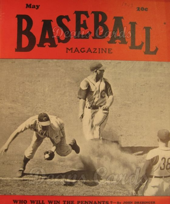 1943 Baseball Magazine    May