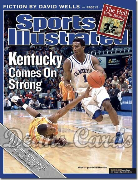 2003 Sports Illustrated   March 10  -  Cliff Hawkins (Kentucky Wildcats)