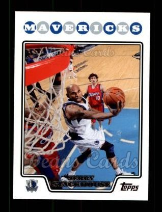 2008 Topps #145  Jerry Stackhouse