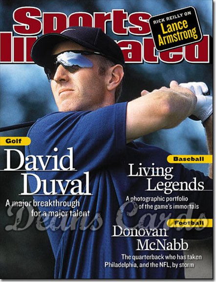 2001 Sports Illustrated   July 30  -  David Duval