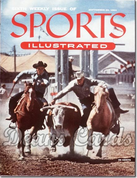 1954 Sports Illustrated   September 20  -  Cowboy (6th Issue)
