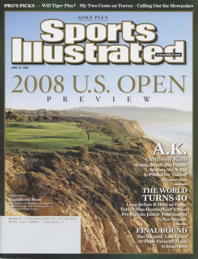 2008 Sports Illustrated   June 10  -  Golf Plus