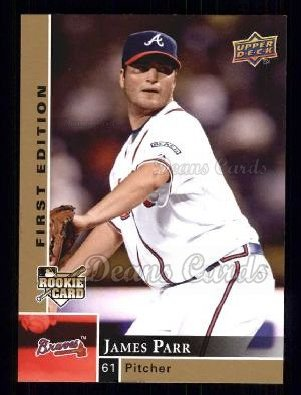 2009 Upper Deck First Edition #24  James Parr