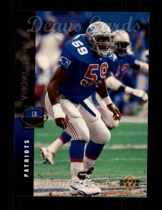 1994 Upper Deck #138  Vincent Brown
