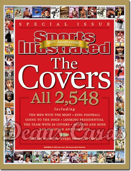 2003 Sports Illustrated   November 10  -  The Covers (50th Anniversary Issue)
