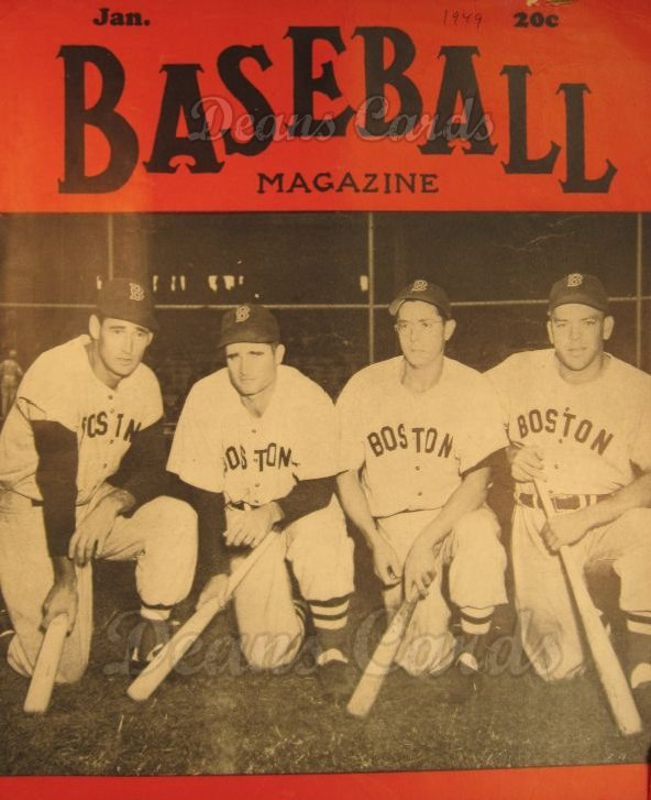 1949 Baseball Magazine    January