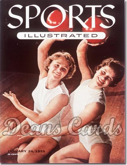 1955 Sports Illustrated - With Label   January 24  -  Gymnastics