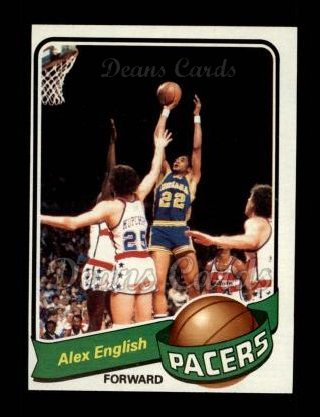 1979 Topps #31  Alex English