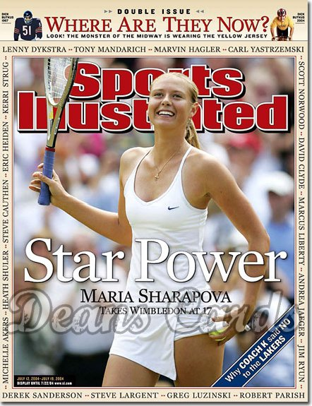 2004 Sports Illustrated   July 12  -  Maria Sharapova Double Issue Where Are They Now