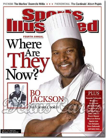2003 Sports Illustrated   June 30  -  Bo Jackson
