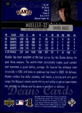 2000 Upper Deck #490  Bill Mueller