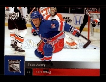 2009 Upper Deck #63  Sean Avery