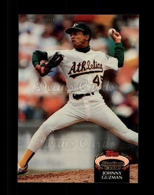 1992 Topps Stadium Club #498  Johnny Guzman