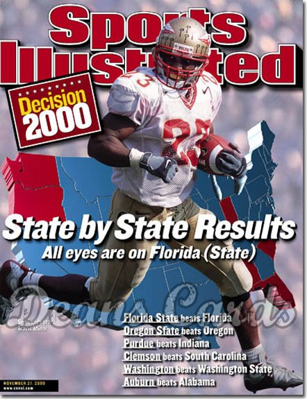 2000 Sports Illustrated   November 27  -  Chad Johnson (Oregon State Beavers) (Regional Issue)