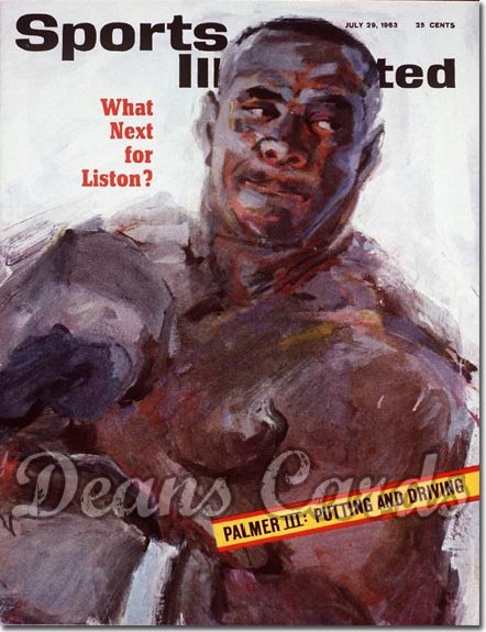 1963 Sports Illustrated - With Label   July 29  -  Sonny Liston