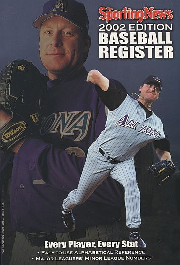 2002 Baseball Register   -  Curt Schilling  Issue