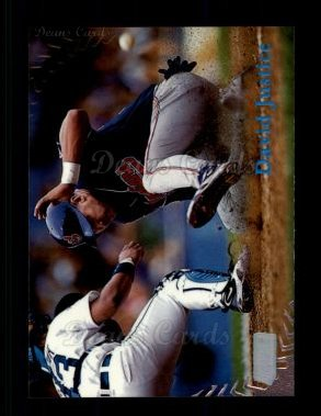 1998 Topps Stadium Club #317  David Justice