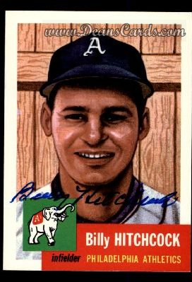 1991 Topps 1953 Archives #17  Billy Hitchcock