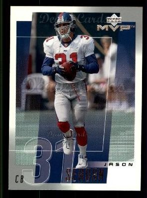 2001 Upper Deck MVP #178  Jason Sehorn