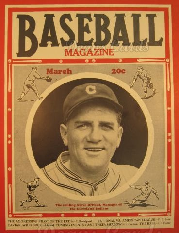 1936 Baseball Magazine    March