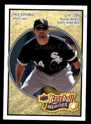 2008 Upper Deck Heroes #44  Paul Konerko