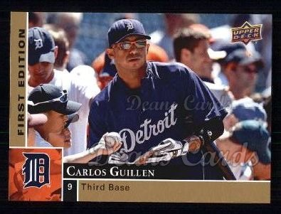 2009 Upper Deck First Edition #105  Carlos Guillen