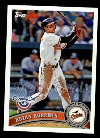 2011 Topps Opening Day #196  Brian Roberts