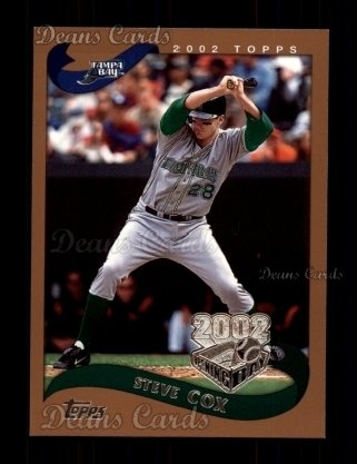2002 Topps Opening Day #158  Steve Cox